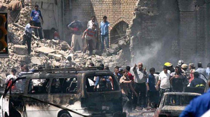 atentado mezquita shii bagdad
