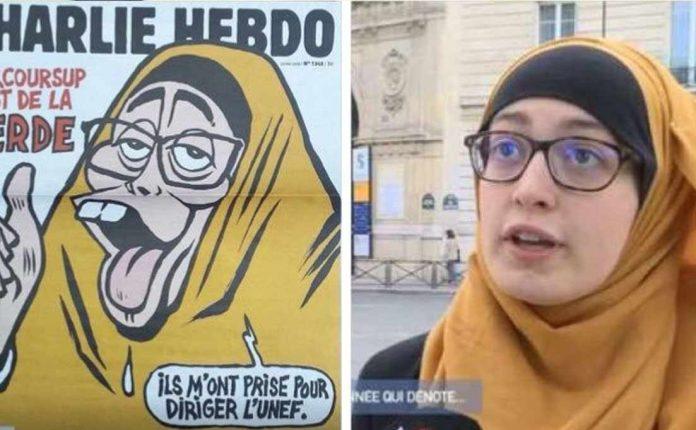 charlie hebdo musulmana francesa hiyab