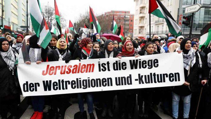 musulmanes alemanes gaza
