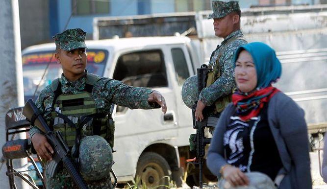 musulmana soldados filipinas