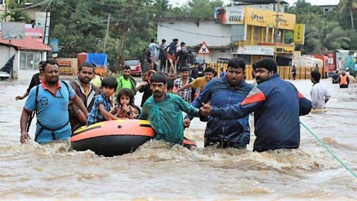 inundaciones kerala india