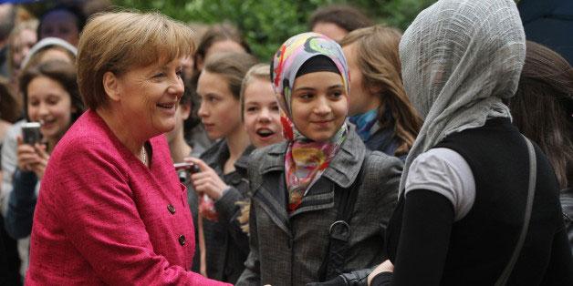 merkel musulmanes alemanes bienvenidos