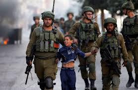 niño palestino detenido sin colegio