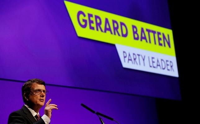 Gerard Batten liker ukip
