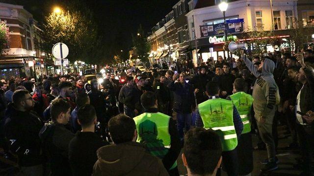 manifestacion islamofoba holanda
