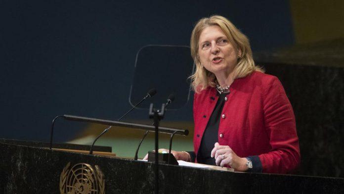 ministra exteriores austriaca