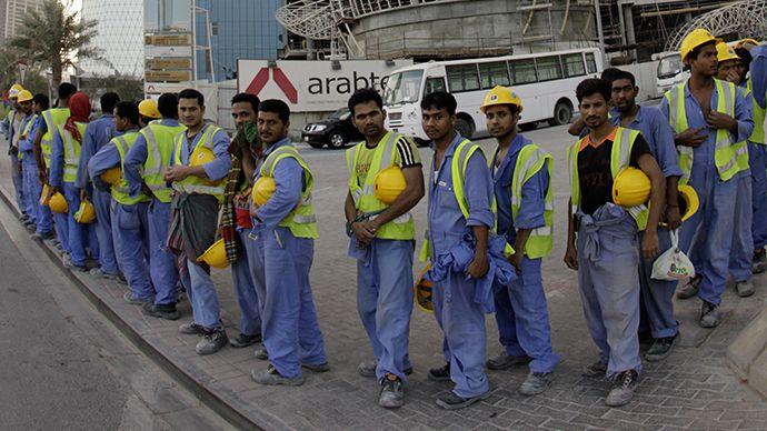 trabajadores inmigrantes qatar