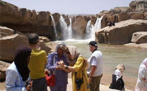 turistas extranjeros iran