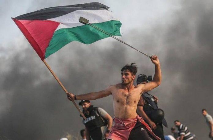 hombre palestino gaza
