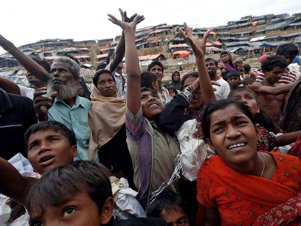 musulmanes rohingyas retorno