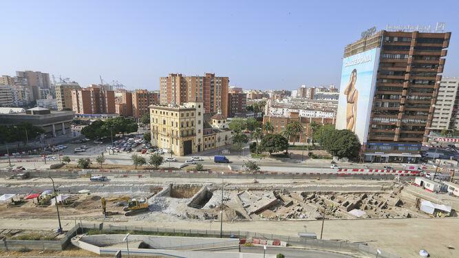 Málaga: Intentan salvar restos arqueológicos de la época musulmana