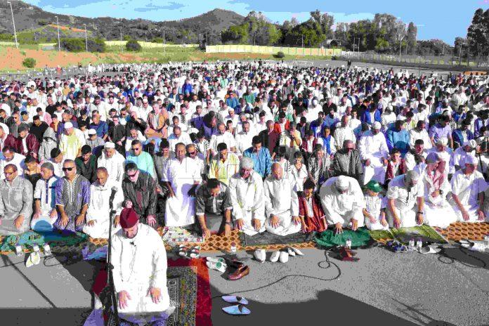 Musulmanes de Ceuta celebraron el Aid