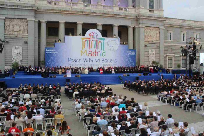 Encuentro religioso en Madrid aboga por la paz en el mundo y justicia para los pueblos