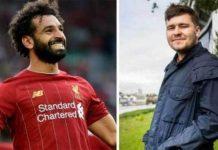 Ben Bird y Mohammed Salah