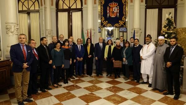 La CIE participa en el día de la no violencia y la paz en Málaga