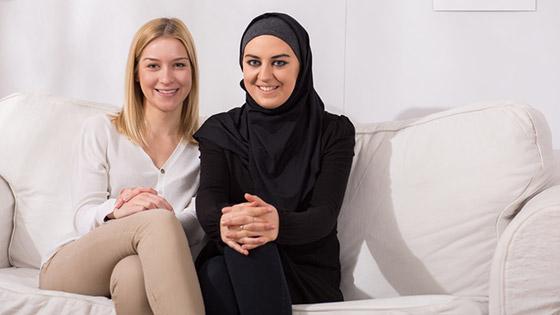 Mayoría de ciudadanos occidentales muestran sentimientos favorables hacia los musulmanes