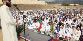 Oración musulmana en Melilla