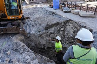 Hallan los restos de una muralla musulmana del s. XII en la ciudad de Málaga