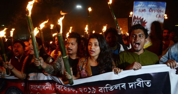 Protestas contra la ley de ciudadania en India