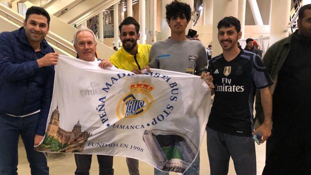 Aficionados árabes del Real Madrid