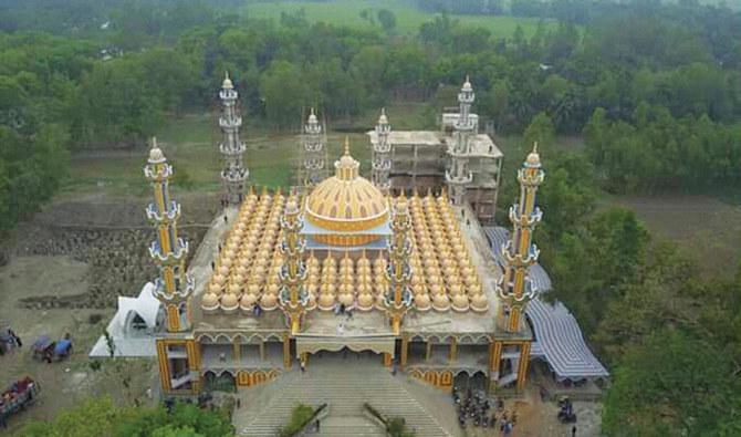 La mezquita de 201 cúpulas de Bangladesh
