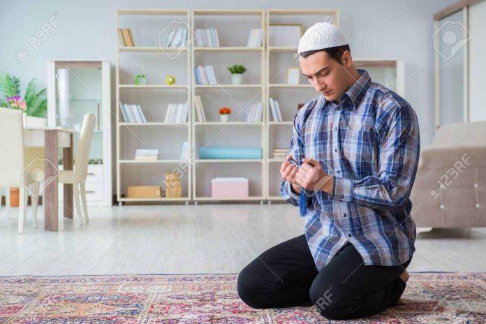 Musulmán orando