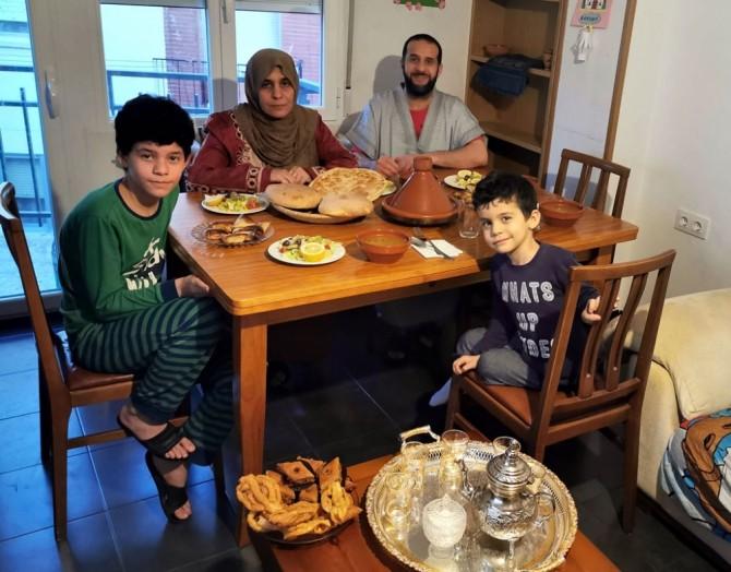 Familia musulmana de Cuenca