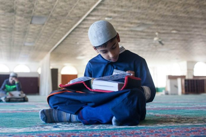 Niño musulmán en Melilla