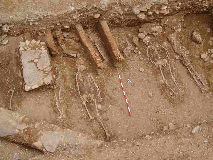 Restos de los cementerios nazaríes