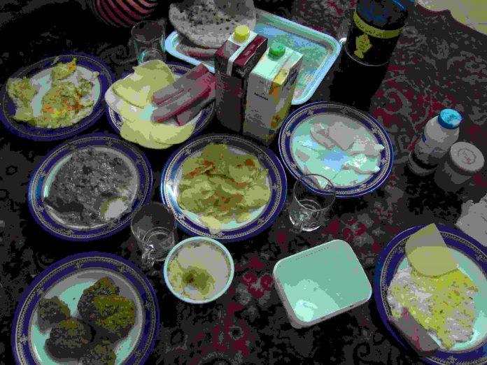 suhur en Ramadán