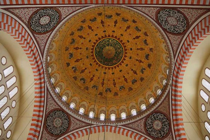 Cúpula de la Mezquita de Suleimaniyeh