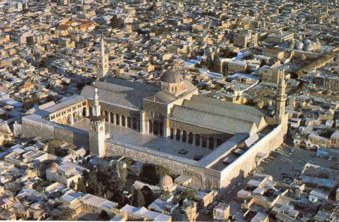 Mezquita de los Omeyas en Damasco