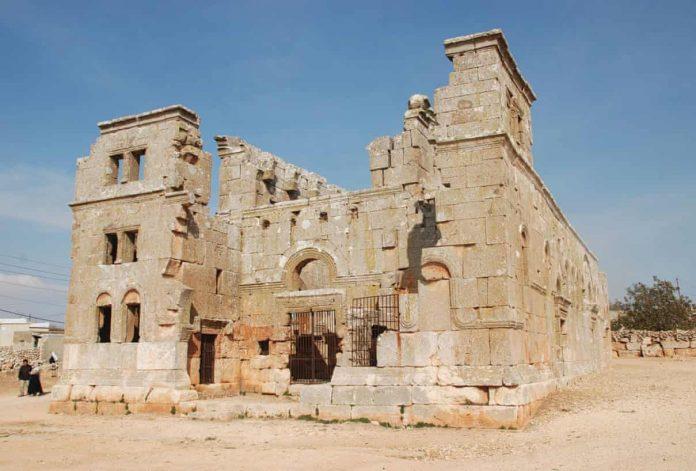 Iglesia de Qalb Lozeh en Siria