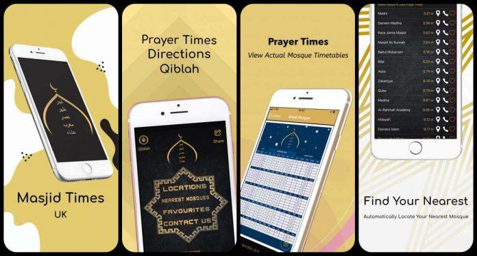 Masjid Times: Una nueva aplicación permite ver los horarios de oración en las mezquitas
