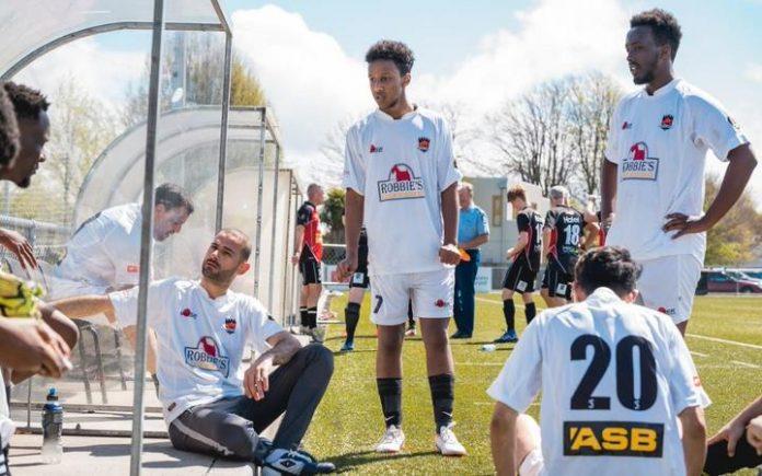 Jugadores de fútbol musulmanes en Christchurch
