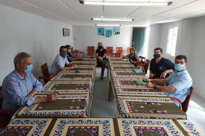 El alcalde de La Línea se ha reunido con representantes de la comunidad musulmana
