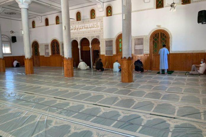Se reanudan las oraciones de los viernes en las mezquitas de Ceuta