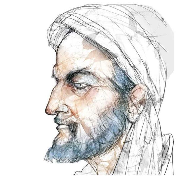 Abbas Ibn Firnas en un retrato de la revista revista «Science4Fun»