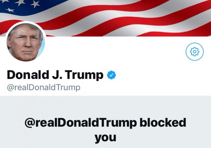 Cuenta de Twitter de Trump bloqueada