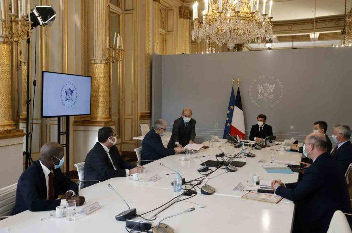 Reunión de Macron con líderes musulmanes