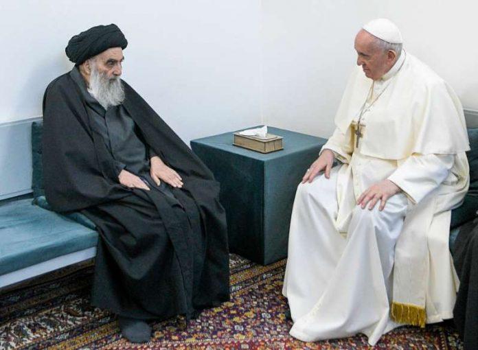 Alí al Sistani y el Papa Francisco