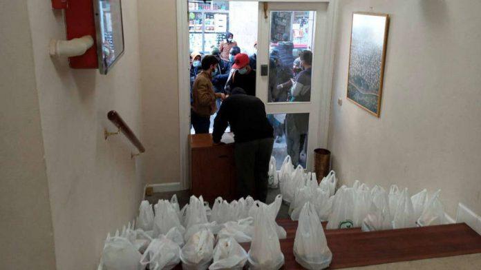 Musulmanes y cristianos rreparten alimentos en Vizcaya