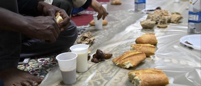 Un iftar de Ramadán