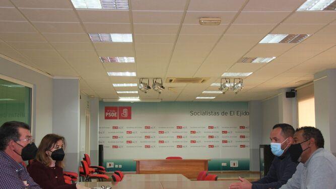 Reunión entre el PSOE y la comunidad musulmana de El Ejido