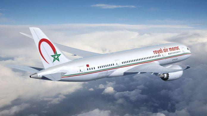 Avión de Royal Air Maroc