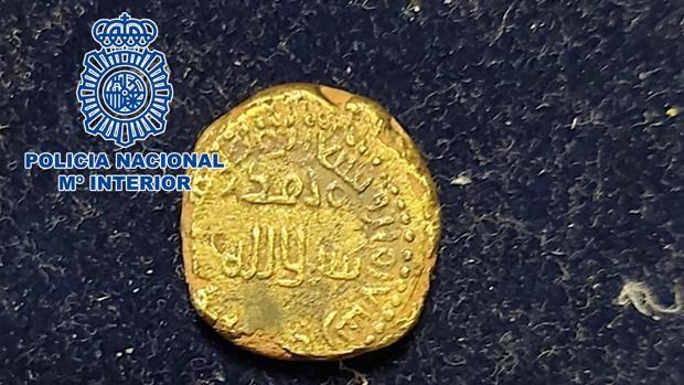 Moneda de oro de Al Andalus