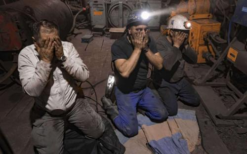 Mineros musulmanes