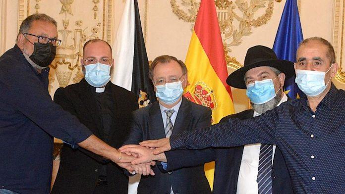 Representantes de las religiones en Ceuta