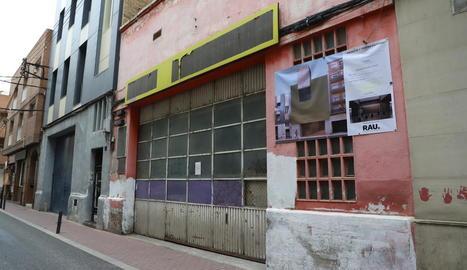 Sitio de la futura mezquita de Lleida