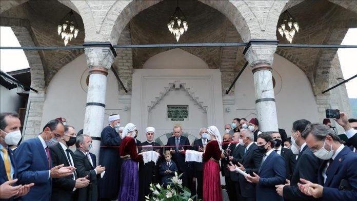 Inaguración de Mezquita de Sarajevo